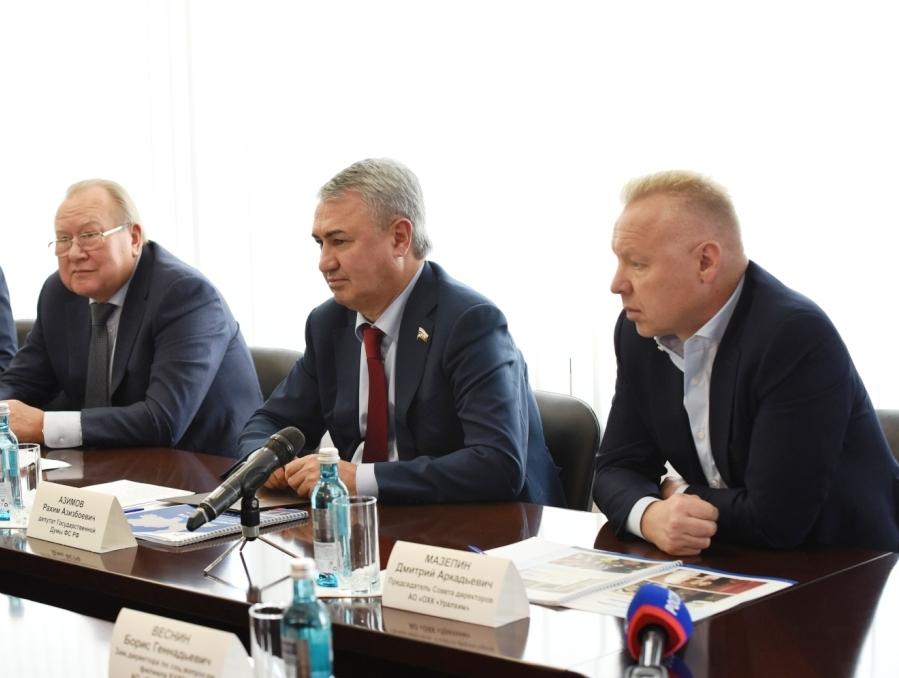 Промышленники области поддержали выдвижение Рахима Азимова