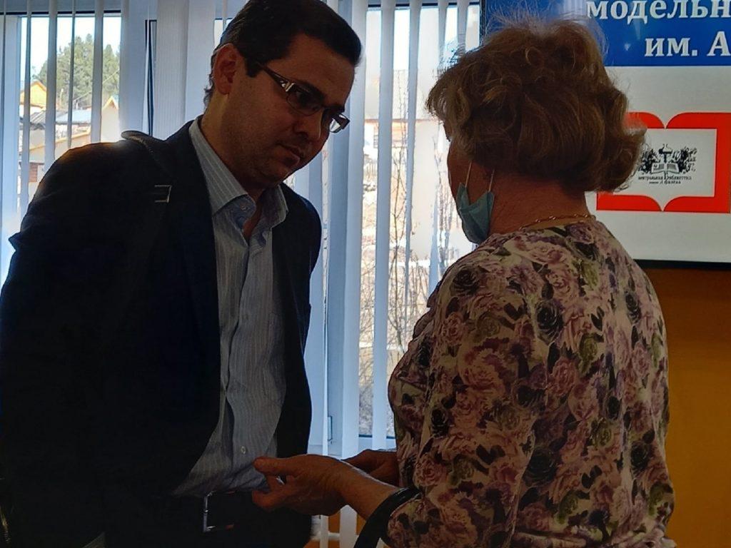 Рахим Азимов отчитался перед жителями Подосиновского района о проделанной работе