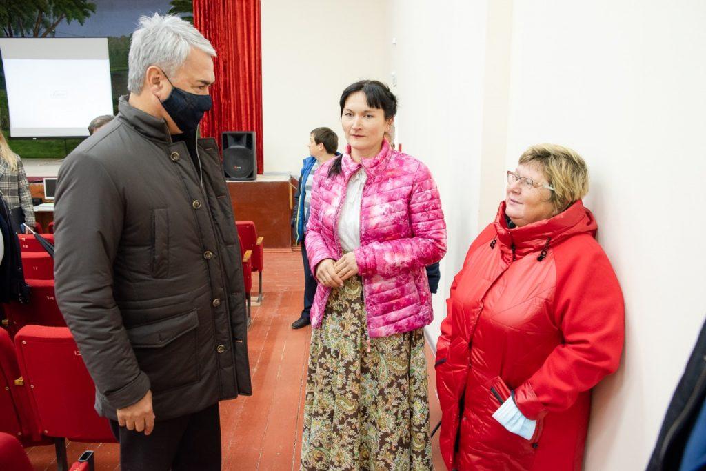 Рахим Азимов принял участие в открытии Кордяжского ДК после ремонта